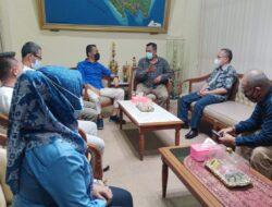 Kunjungi RRI Bandarlampung, Nizwar Cs Disambut Hangat