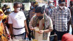 Disambut Musa Ahmad, Menteri BUMN Kasih Pengarahan Pelaku UMKM Lampung Tengah