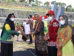 Sambangi Lampung Barat, Ketua TP PKK Provinsi Lampung Lakukan Pembinaan Organisasi