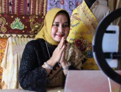 Ketua Dekranasda Lampung Ikuti Pameran Online Rumah Kriya Asri