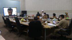 Inspektur Provinsi Lampung Bahas Zona Integritas Birokrasi Bebas Korupsi