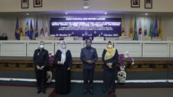 Hadiri Sidang Paripurna, Nunik Apresiasi DPRD Lampung Terkait Persetujuan Raperda