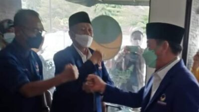 Herman HN Nahkodai DPW NasDem Lampung! Ini Alasan Dia Hijrah dari PDIP